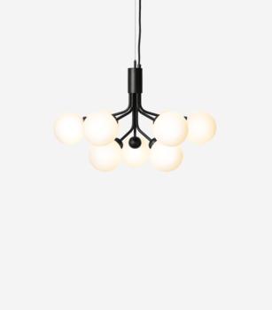 Подвесной светильник NUURA APIALES 9 SATIN BLACK