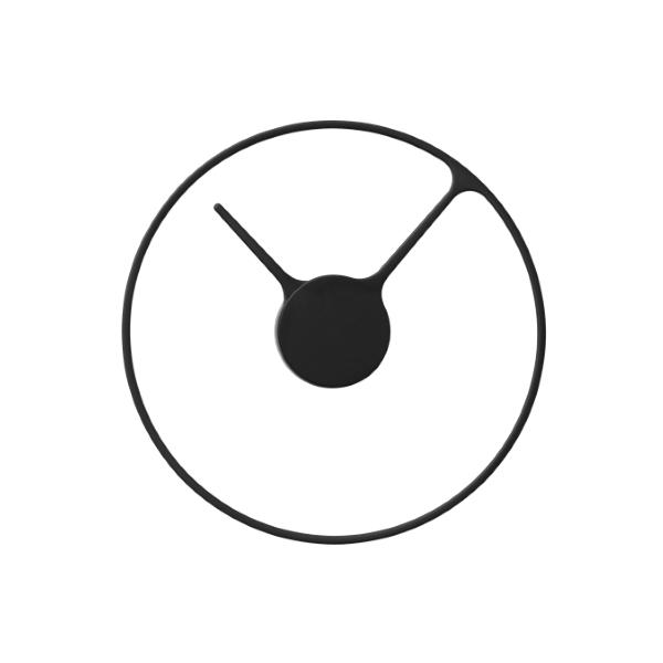Часы настенные Stelton Time clock black . Изображение 1