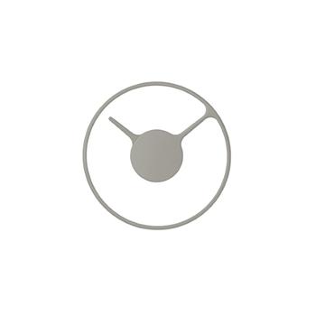 Часы настенные Stelton Time clock grey