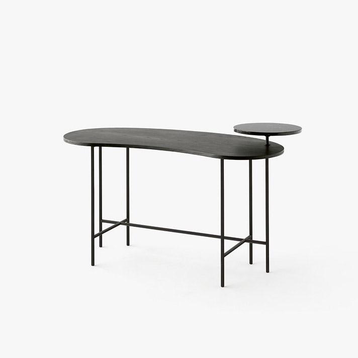 Стол &Tradition Palette Desk JH9, black ash /nero marquina. Изображение 1