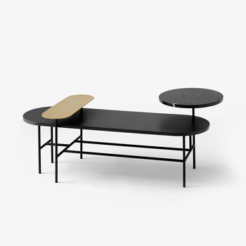 Журнальный столик &tradition PALETTE JH7, black stained ash