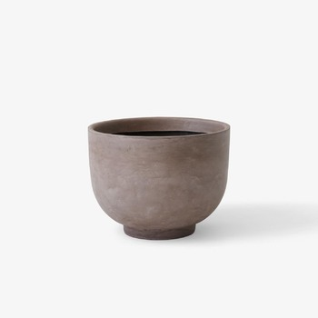 Кашпо &Tradition Collect planter SC43 silver grey