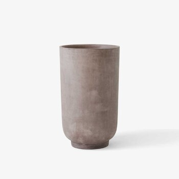 Кашпо &Tradition Collect planter SC45 silver grey