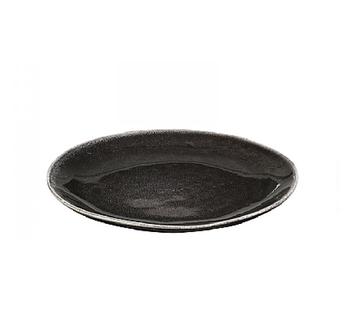 Десертная тарелка Broste Copenhagen Nordic coal charcoal