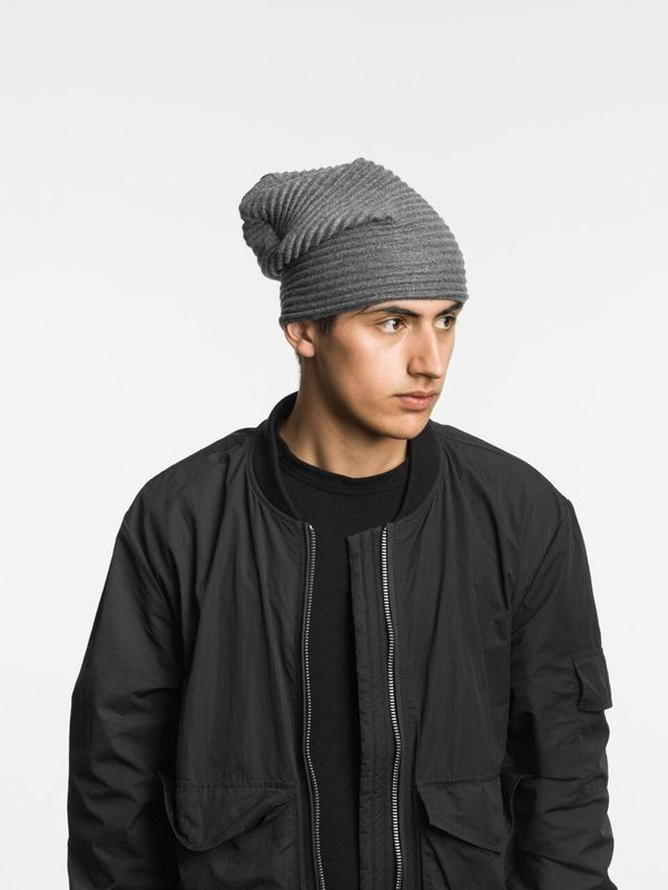 Шапка Design House Stockholm Pleece Beanie Dark grey. Изображение 1