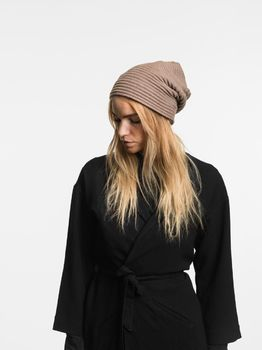 Шапка Design House Stockholm Pleece Beanie Mud