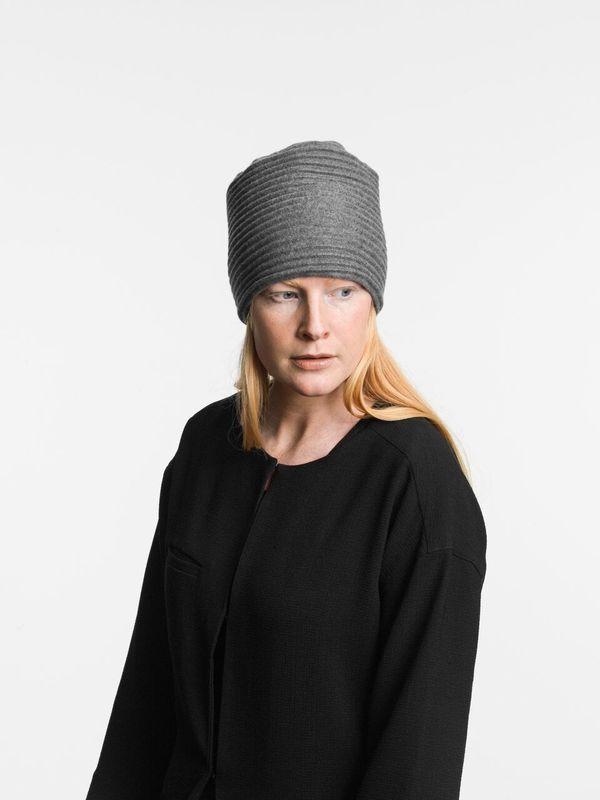 Шапка Design House Stockholm Pleece Dark grey. Изображение 1