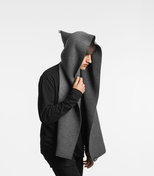 Худи Design House Stockholm Pleece Dark grey