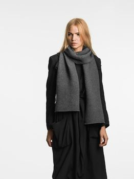 Шарф Design House Stockholm Pleece Dark grey
