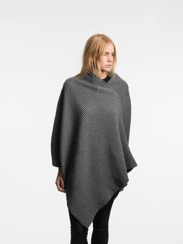 Пончо Design House Stockholm Pleece  Poncho Dark Grey