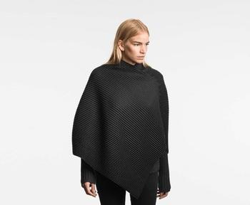 Пончо Design House Stockholm Pleece Poncho Black