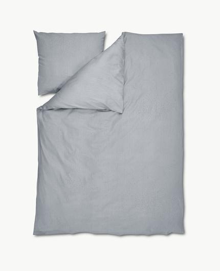 Комплект постельного белья Skagerak Nebulosa Silk Grey. Изображение 1