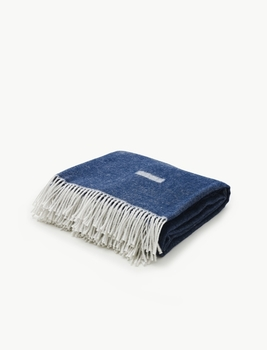 Плед Skagerak Lota Blanket Royal Blue