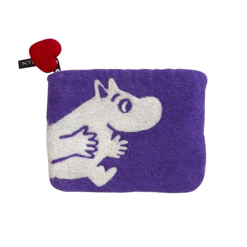 Кошелек Klippan Moomin lilac. Изображение 1