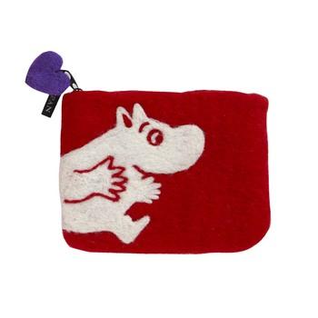 Кошелек Klippan Moomin red