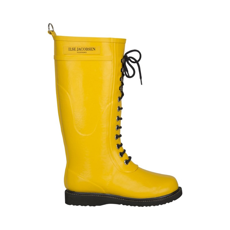 Сапоги Ilse Jacobsen Long Rubberboot, Cyber yellow. Изображение 1