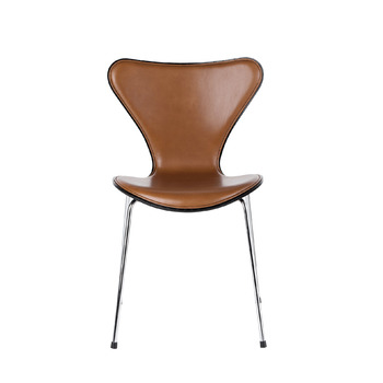 Стул Fritz Hansen Series 7, front upholstered, leather