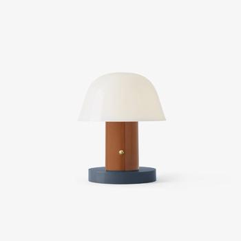 Настольная лампа &Tradition Setago JH27 Rust&Tunder