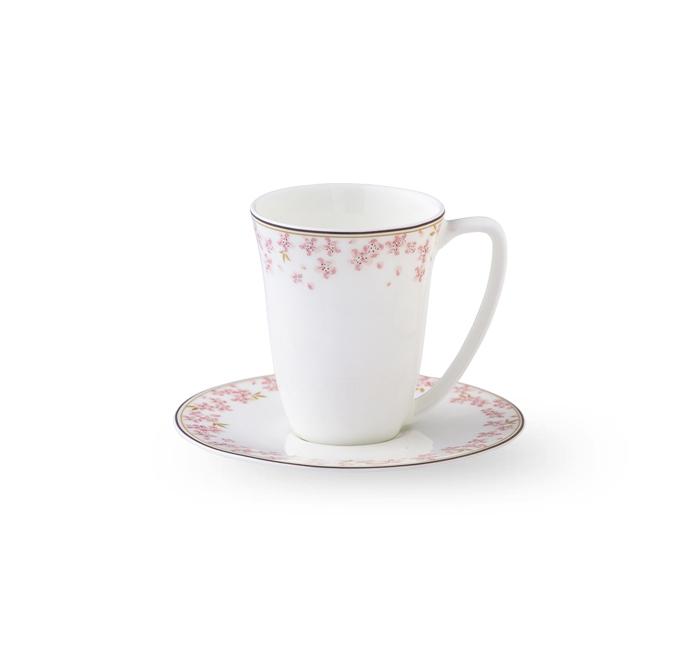 Чашка с блюдцем  Wik & Walsoe Slape Rosa . Изображение 1