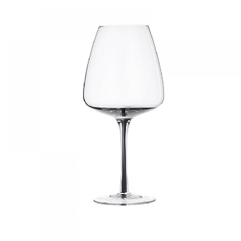 Бокал для красного вина Broste Copenhagen Smoke grey . Изображение 1