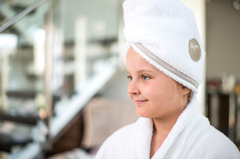 Полотенце для головы Luin spa Hair towel Snow-Sand