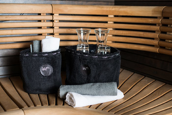 Корзина для ванных принадлежностей Luin spa Spa basket Blacklarge
