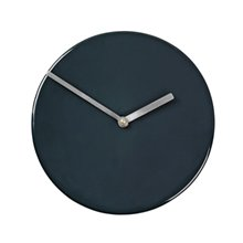Настенные часы Broste Copenhagen Round aubergine