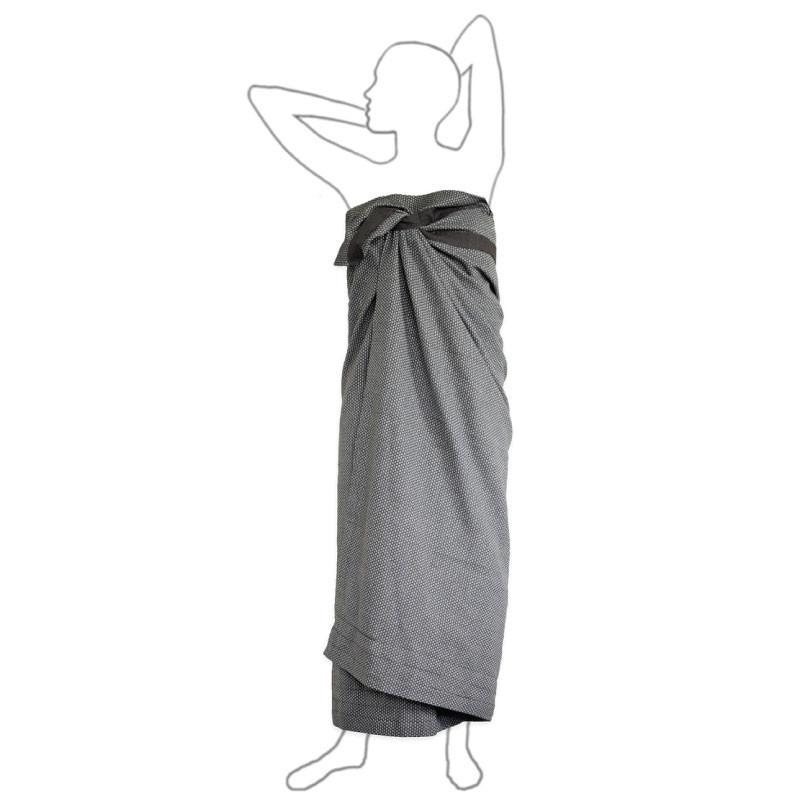 Полотенце The Organic Company Wellness Towel dark grey . Изображение 1