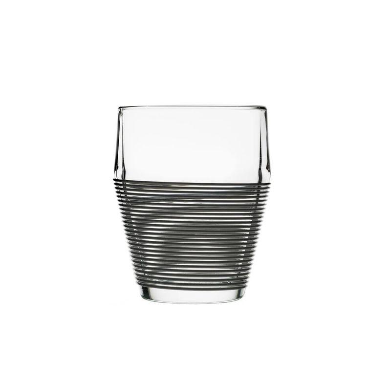 Набор стаканов 2 шт. Design House Stockholm Timo termo black stripe. Изображение 1