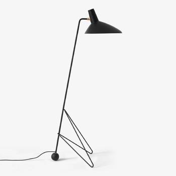 Торшер &Tradition Tripod Floor lamp HM8 black