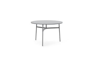 Стол Normann Copenhagen Union Table Ø110 x H74,5 cm. Grey