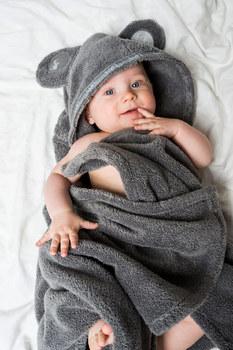 Детское полотенце Luin spa Baby cape towe Granite